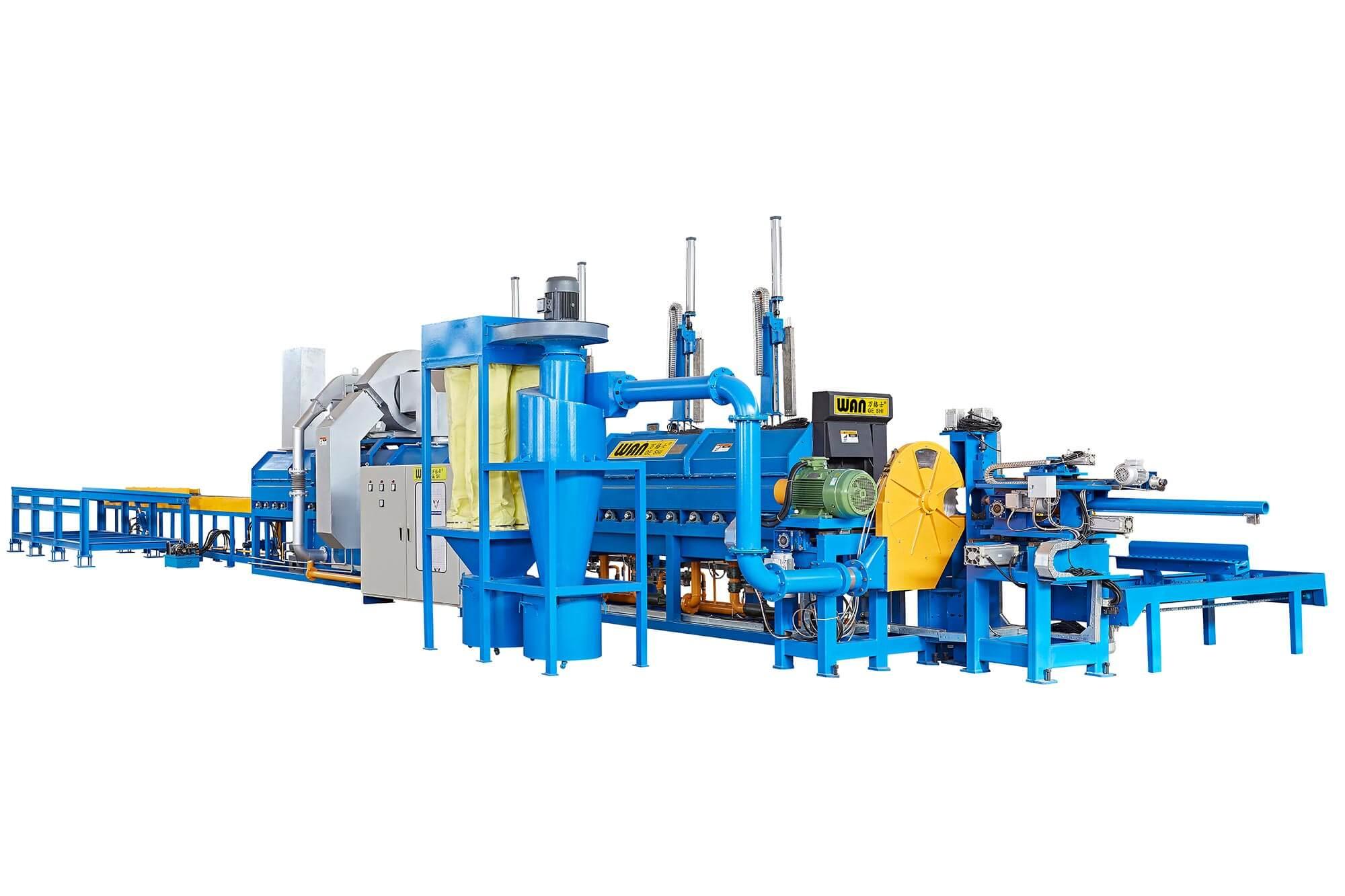 Wangeshi Top aluminium extrusion equipment company for aluminum billet heating-1