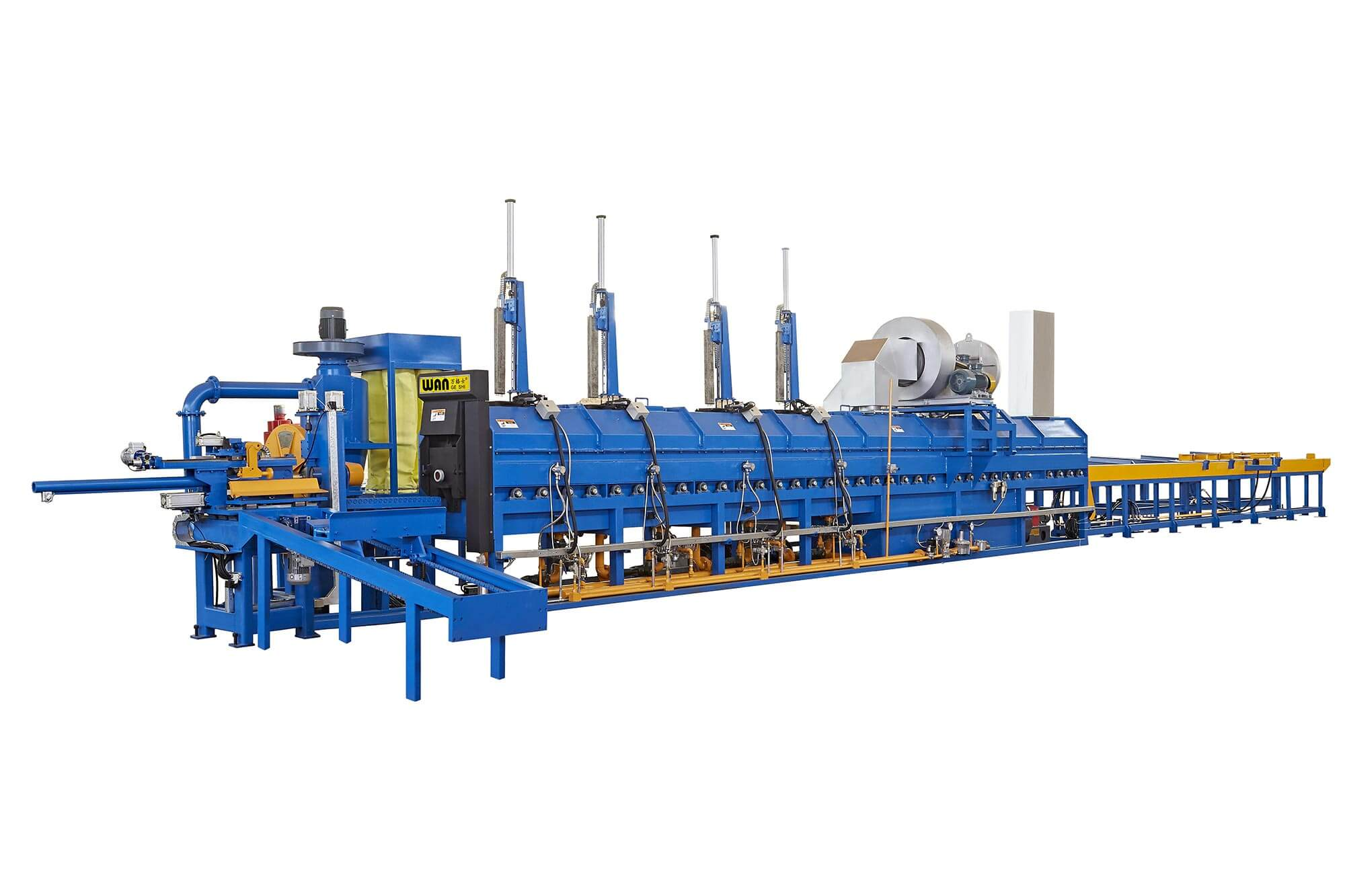 Wangeshi Top aluminium extrusion equipment company for aluminum billet heating-2