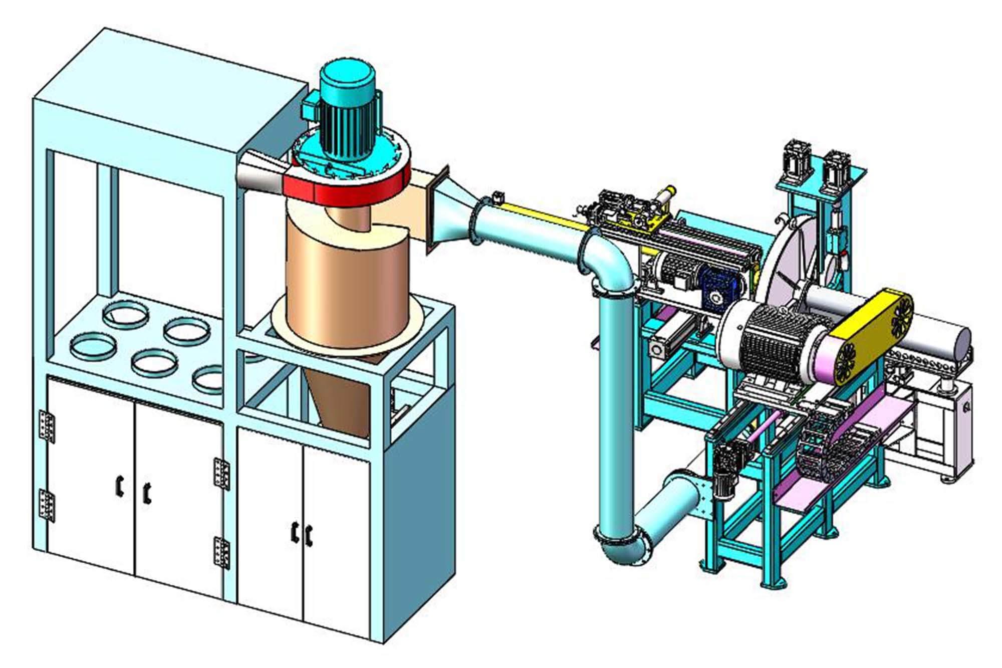 Wangeshi aluminium cutting machine price for cut off the aluminum rods-2