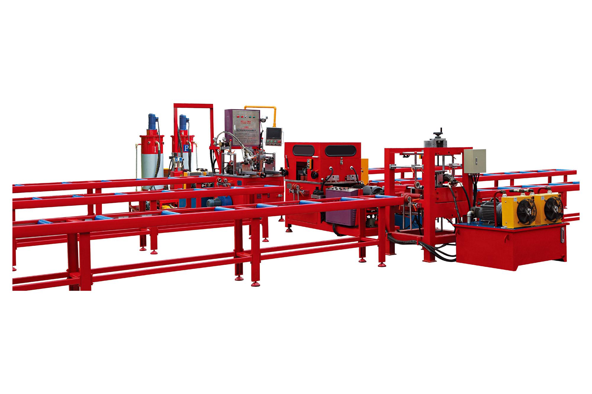 Wangeshi Latest knurling machine company for alumium profile processing-1