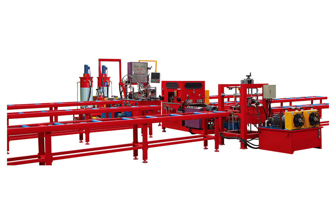 Thermal barrier aluminium machine
