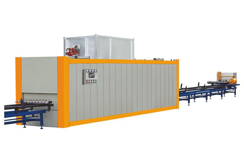 Vacuum wood grain transferring machine