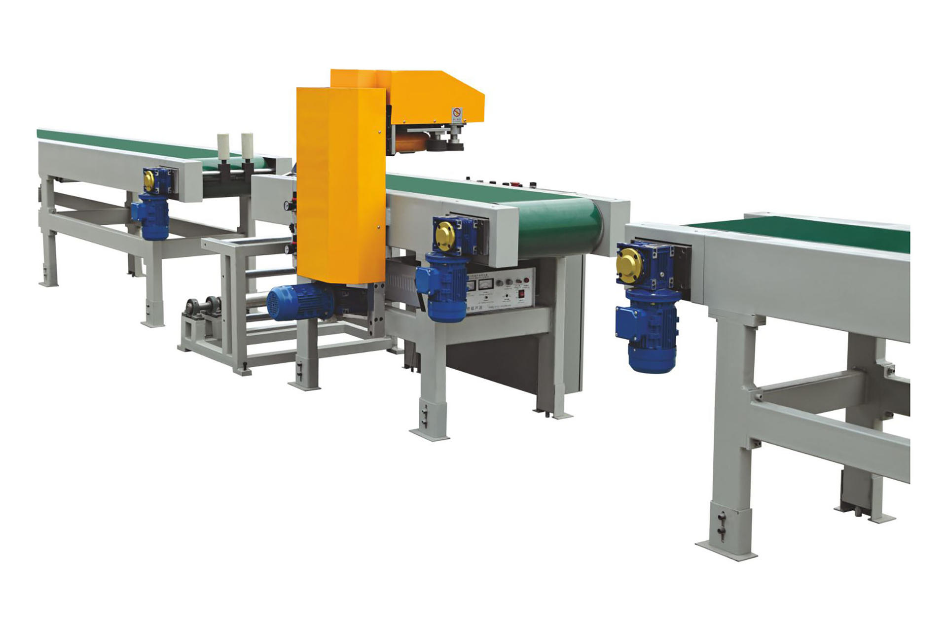 Wood grain film wrap packing machine