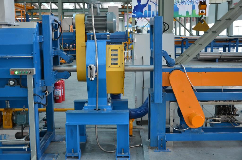 1800T single billet heating furnace with hot shear