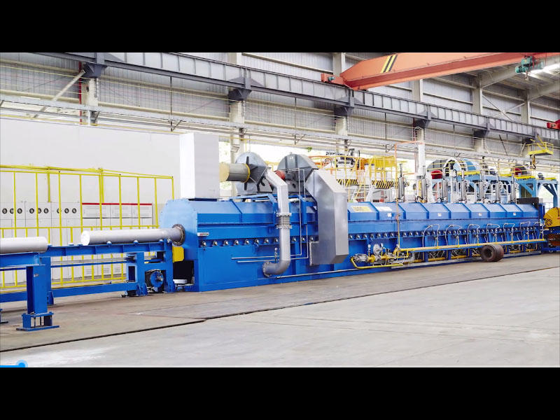 4500MT full line  -single  billet furnace