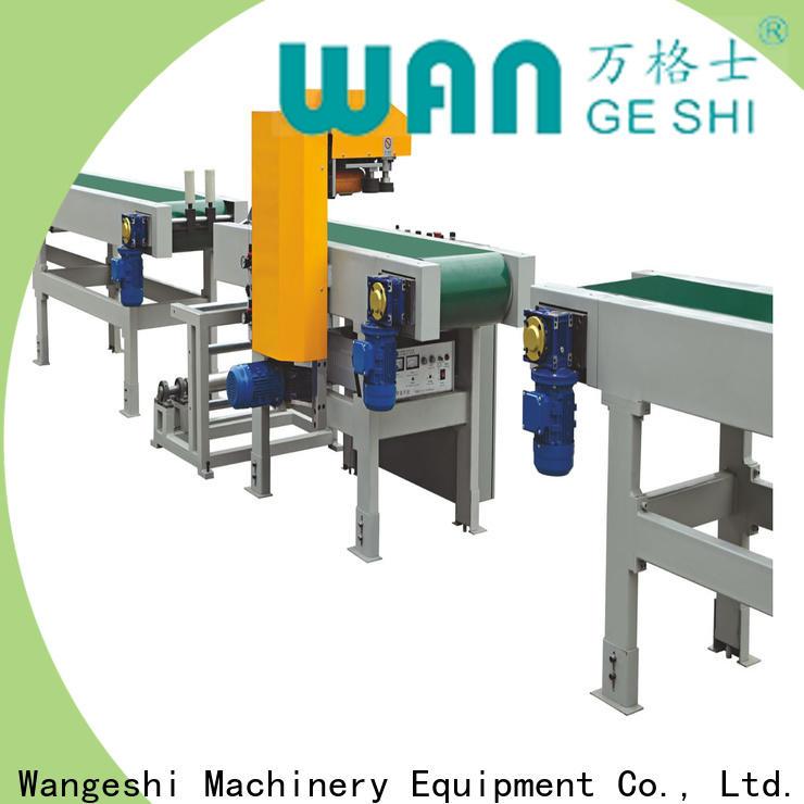 Wangeshi wrap packing machine manufacturers for ultrasonic auto film welding
