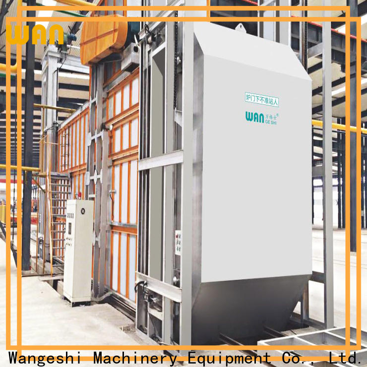 Wangeshi aluminum aging oven company for high temperature thermal processes of aluminum