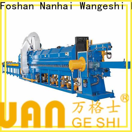 Wangeshi Top aluminium extrusion equipment company for aluminum billet heating