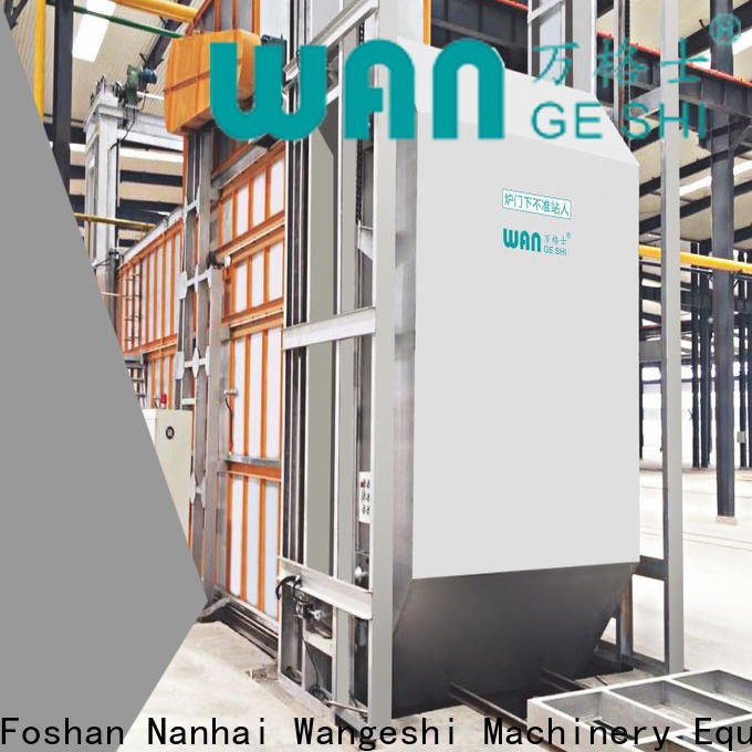 Wangeshi Top aging furnace factory price for high temperature thermal processes of aluminum