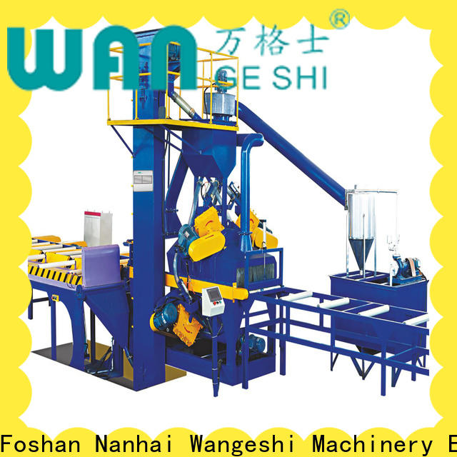 Best sandblasting equipment factory price for surface finishing