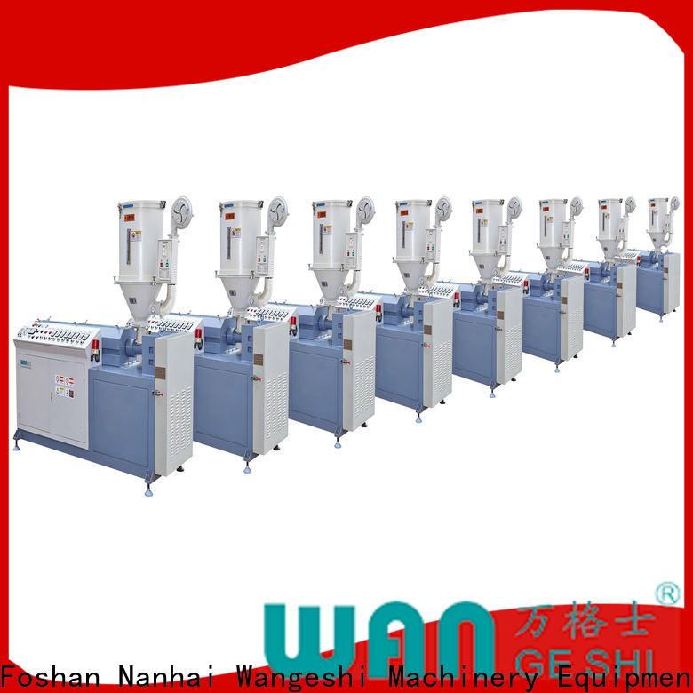 Wangeshi thermal break machine vendor for making PA66 nylon strip