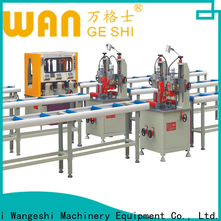 Custom aluminium profile machine manufacturers for producing heat barrier profile