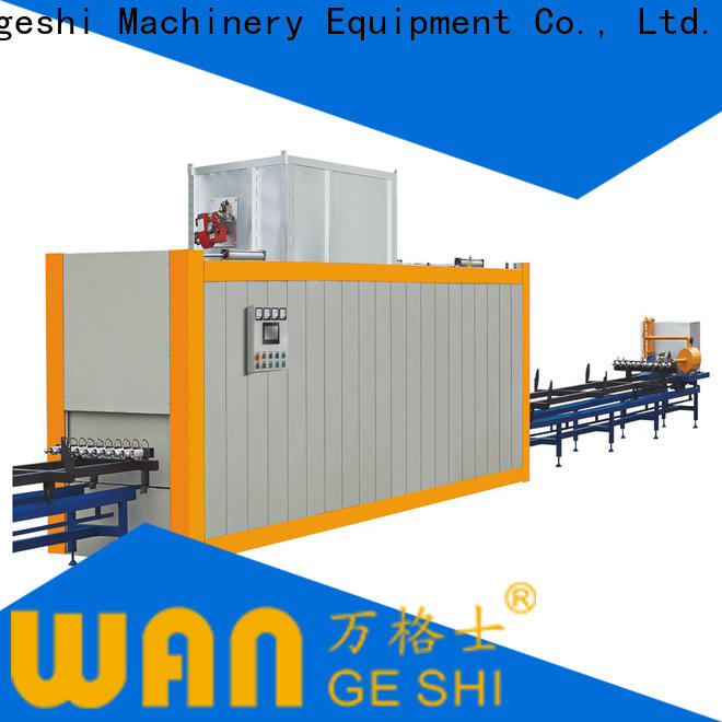 Wangeshi transferring machine cost for transfering wood grain on surface of aluminum