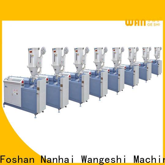 Wangeshi Best extrusion line vendor for making PA66 nylon strip