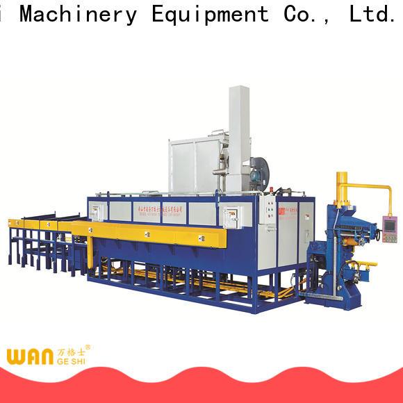Wangeshi heat treatment furnace supply for aluminum extrusion