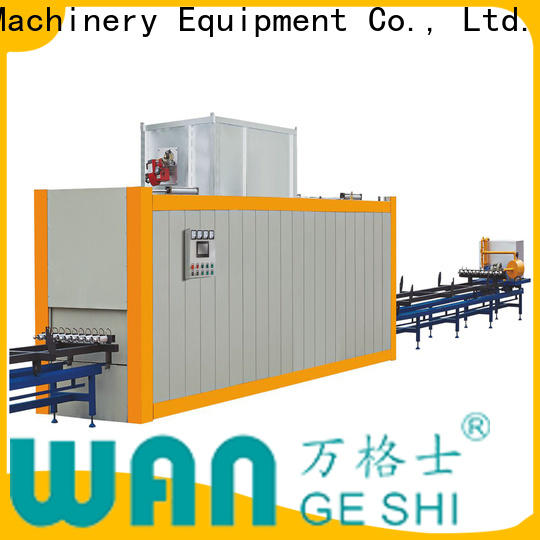 Wangeshi New aluminum profile machine supply for transfering wood grain on surface of aluminum