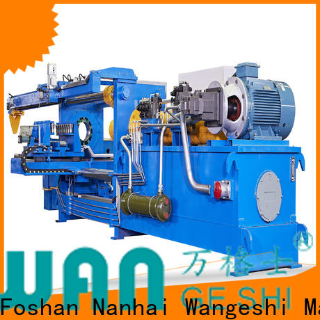 High efficiency metal polishing equipment supply for aluminum billet surface cleaning