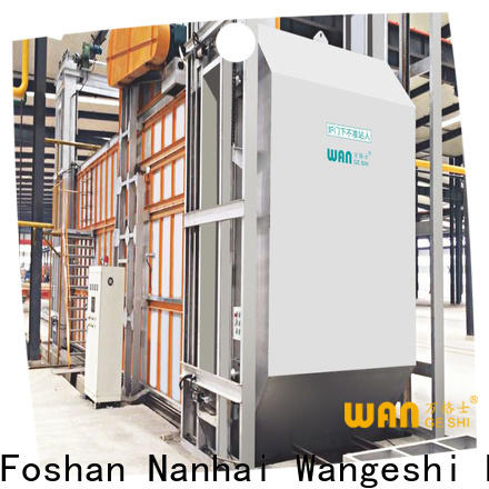 Quality aging furnace supply for aging heat treatment