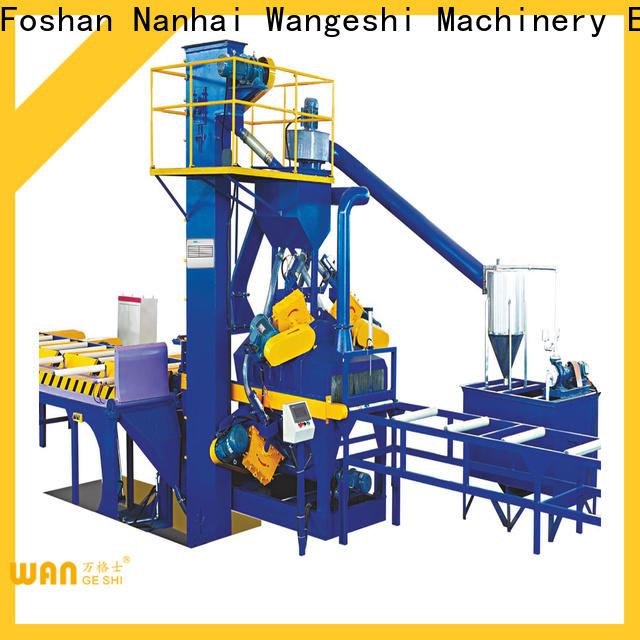 Quality sand blasting machine for sale for surface finishing