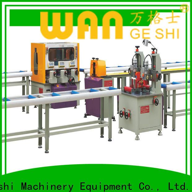 Custom thermal break assembly machine manufacturers for making thermal break profile