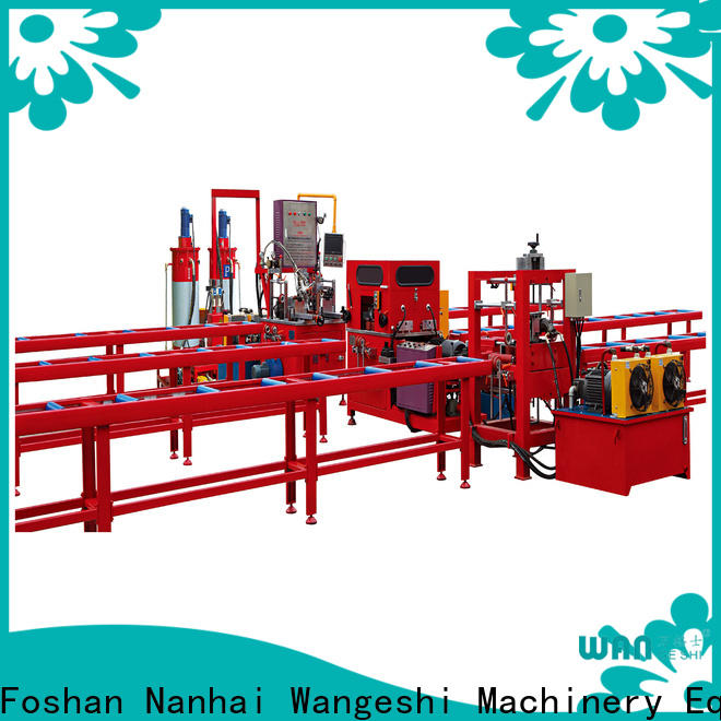 Wangeshi Best aluminium injection moulding machine supply
