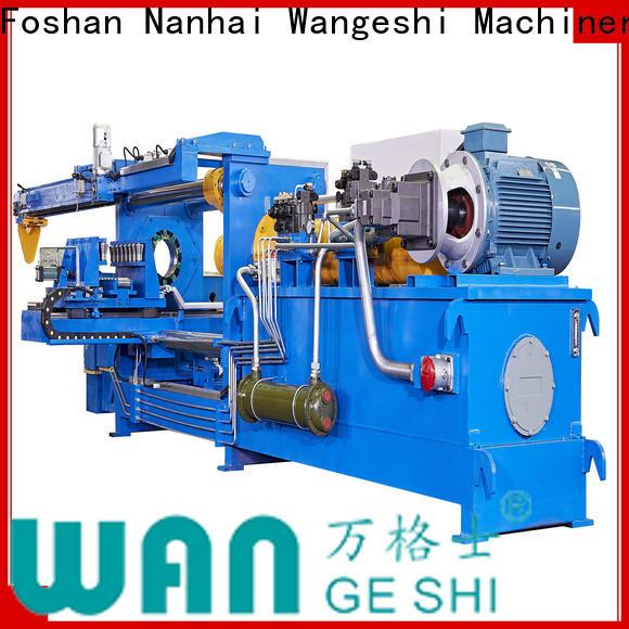 Wangeshi aluminum polishing machine vendor for cleaning aluminium billet
