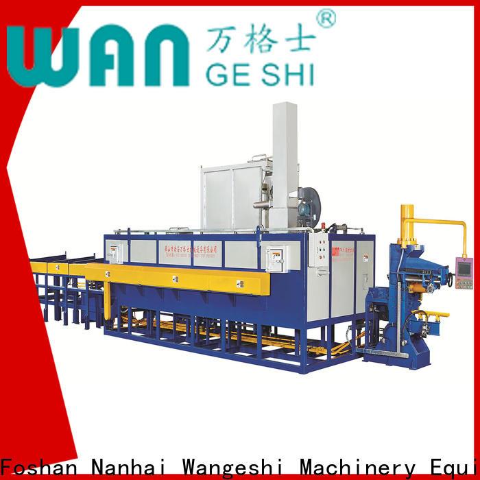 Durable aluminum billet casting machine factory for aluminum extrusion