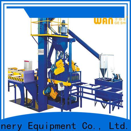 Wangeshi sandblasting equipment company for surface finishing