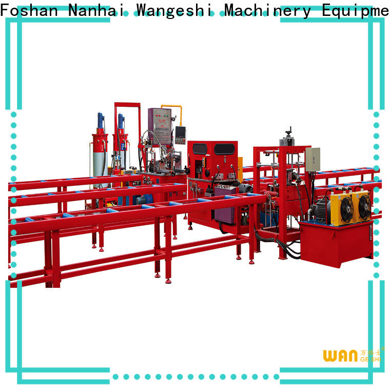 High-quality pouring machine for sale for alumium profile processing