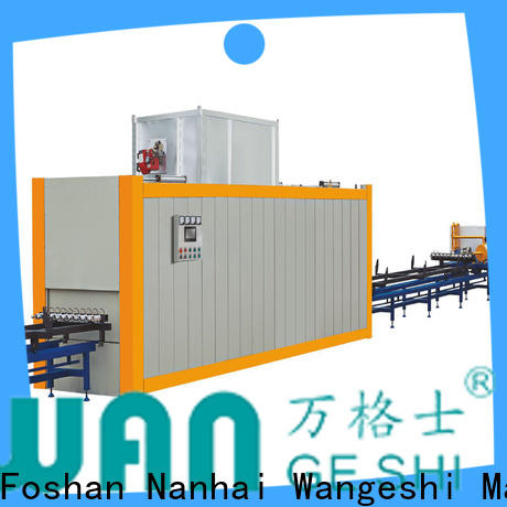 Wangeshi aluminium profile machine suppliers for transfering wood grain on surface of aluminum