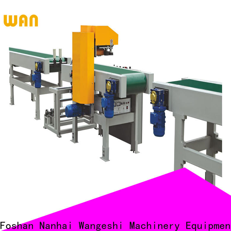 Wangeshi New wrap packing machine manufacturers for ultrasonic auto film welding