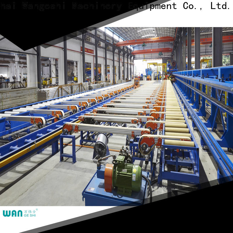 Wangeshi handling table for sale for aluminum profile