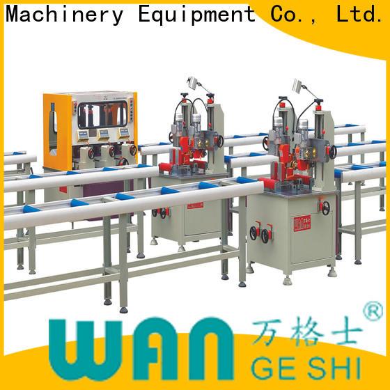 Wangeshi Durable thermal break assembly machine cost for making thermal break profile