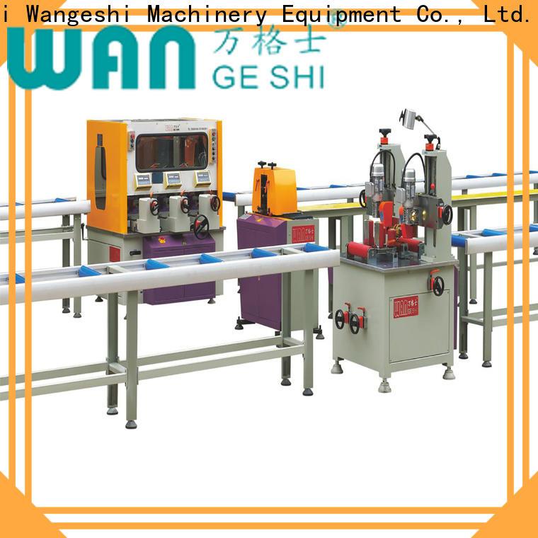 Wangeshi aluminium profile machine vendor for producing heat barrier profile