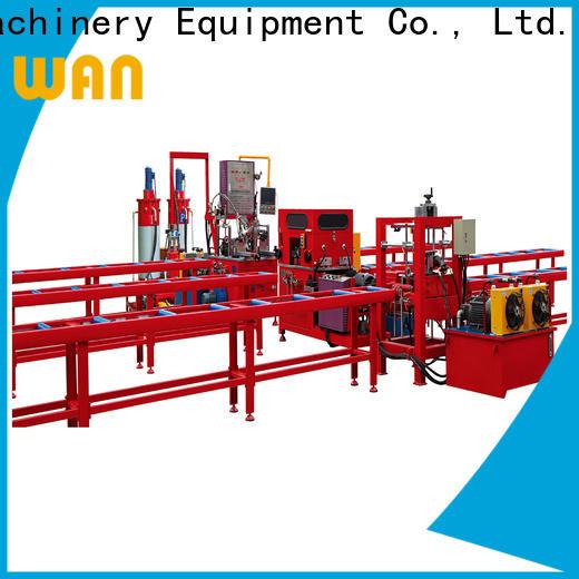 Wangeshi aluminium injection moulding machine vendor for alumium profile processing