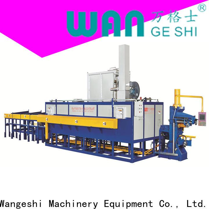 Wangeshi Professional aluminium extrusion equipment vendor for aluminum billet heating