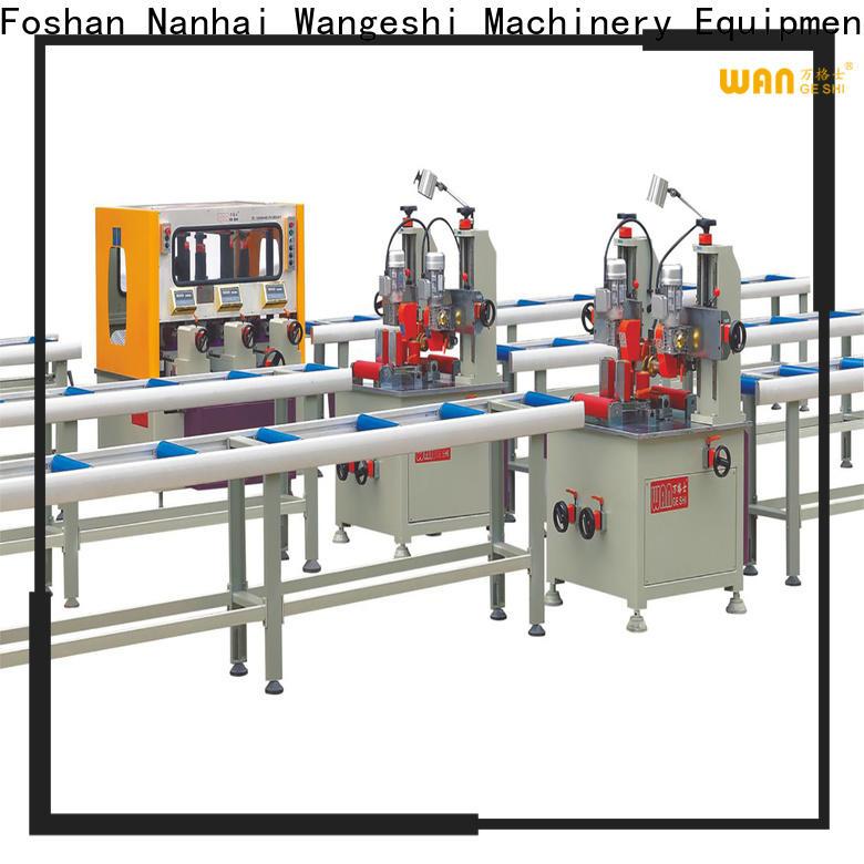 Wangeshi aluminium profile machine for sale for producing heat barrier profile