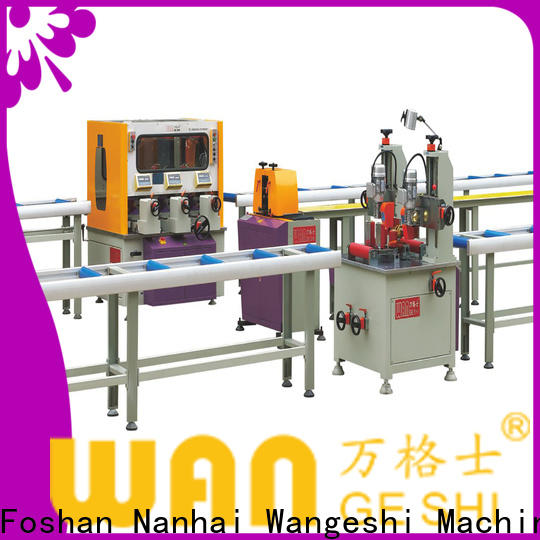 Custom aluminium profile machine suppliers for producing heat barrier profile
