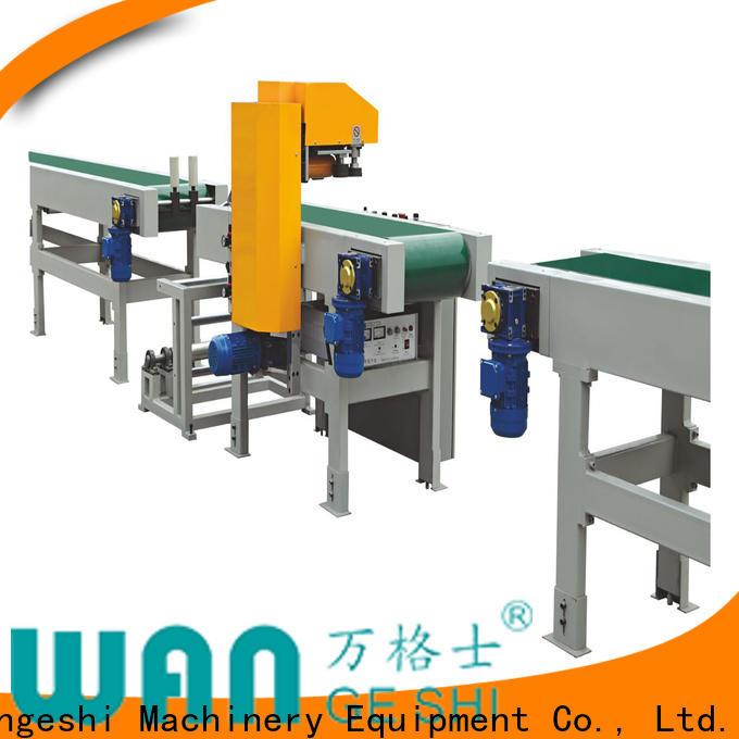Wangeshi New film packaging machine company for packing profile