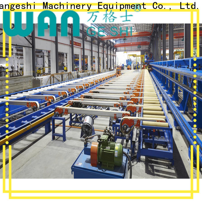 Wangeshi New handling table factory price for aluminum profile handling