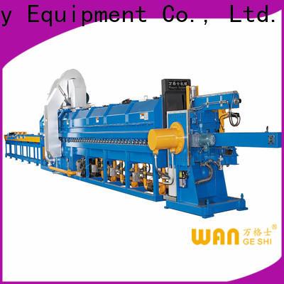 Wangeshi Durable aluminum billet casting machine for sale for aluminum billet heating
