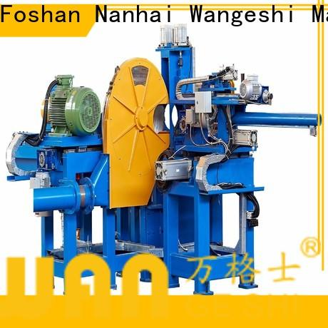 Wangeshi hot shearing machine manufacturers for cut off the aluminum rods