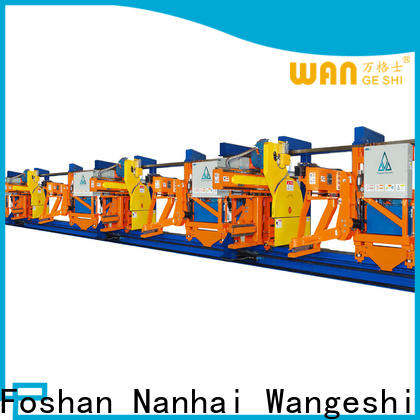 Top aluminum extrusion equipment factory price for pulling and sawing aluminum profiles
