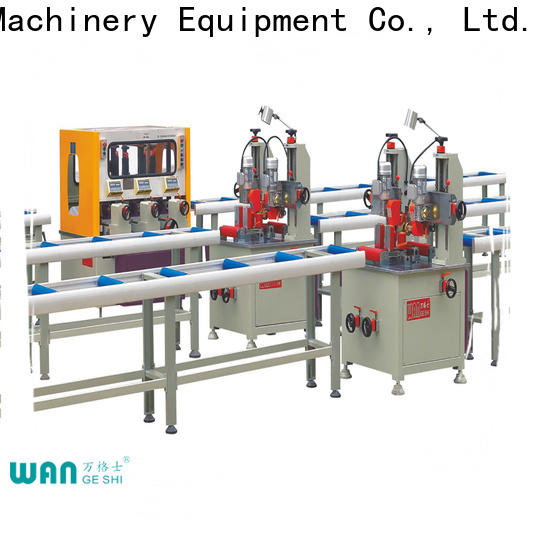 Wangeshi aluminium profile machine factory for producing heat barrier profile