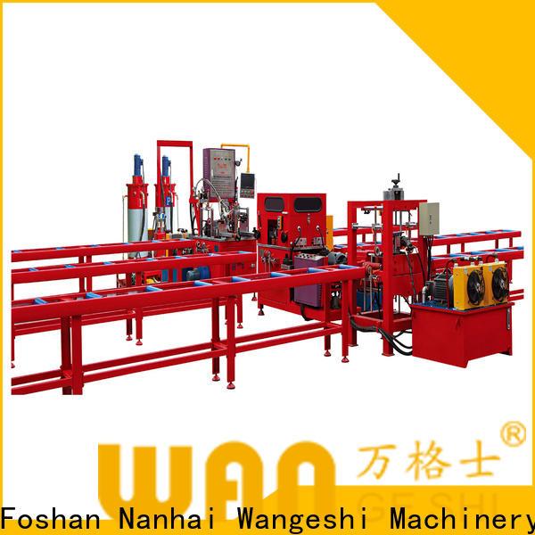 Wangeshi Quality aluminium injection moulding machine vendor