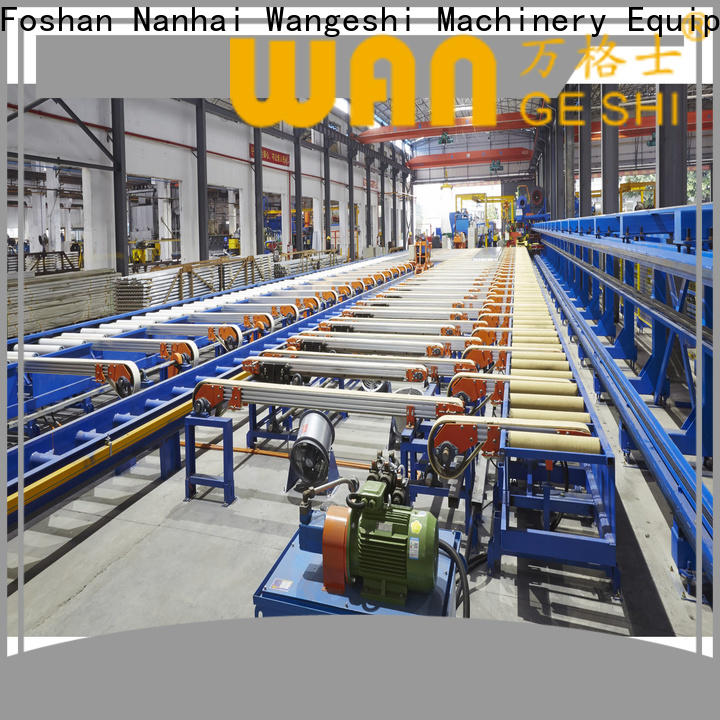 Latest handling table factory price for aluminum profile handling