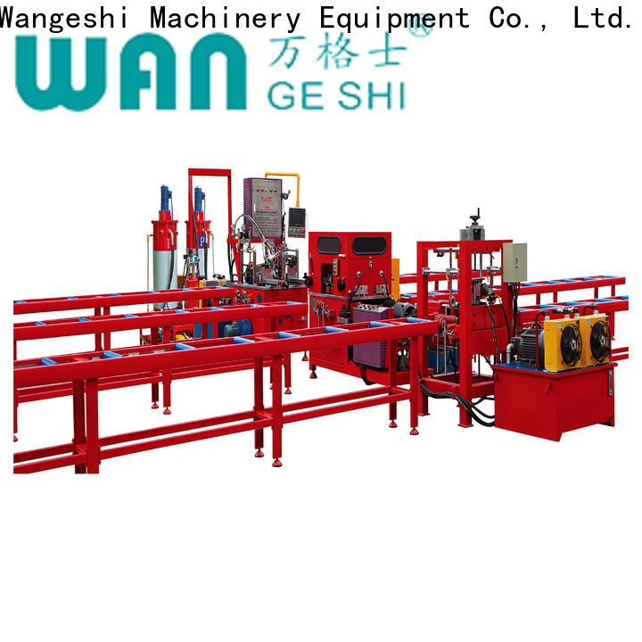 Wangeshi High-quality aluminium injection moulding machine vendor
