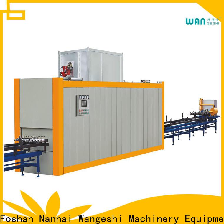 Wangeshi New aluminium profile machine supply for decorating aluminum profile