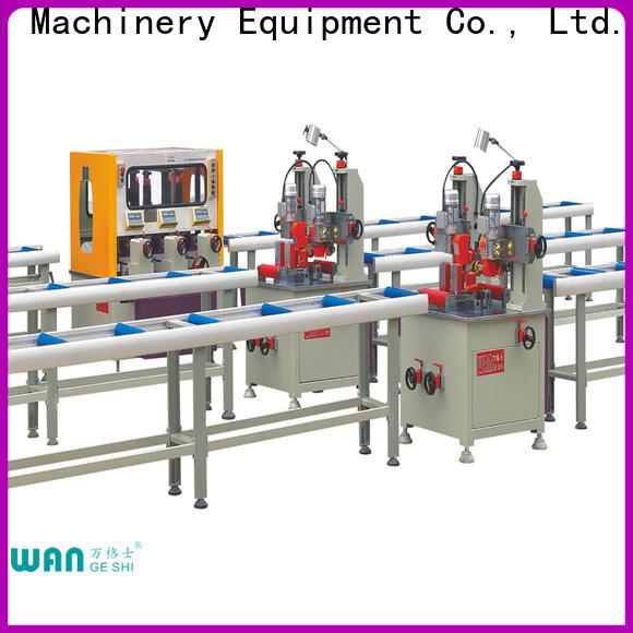 Wangeshi Professional aluminium profile machine price for making thermal break profile