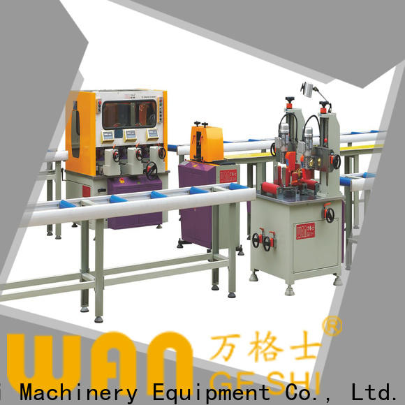 Wangeshi aluminium profile machine suppliers for making thermal break profile